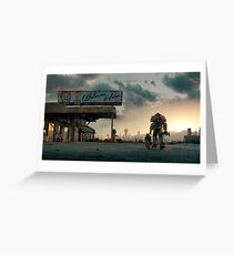 Fallout 4 - Welcome Home Greeting Card