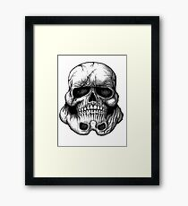 Skull Topper Framed Print