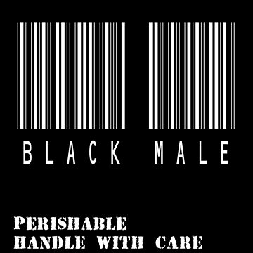Black Male Barcode by oddmetersam