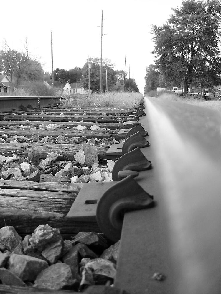 train tracks by Mina