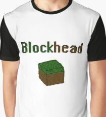 Blockhead voxel cube Graphic T-Shirt