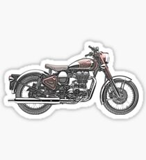 Royal Enfield Motorcycle Sticker