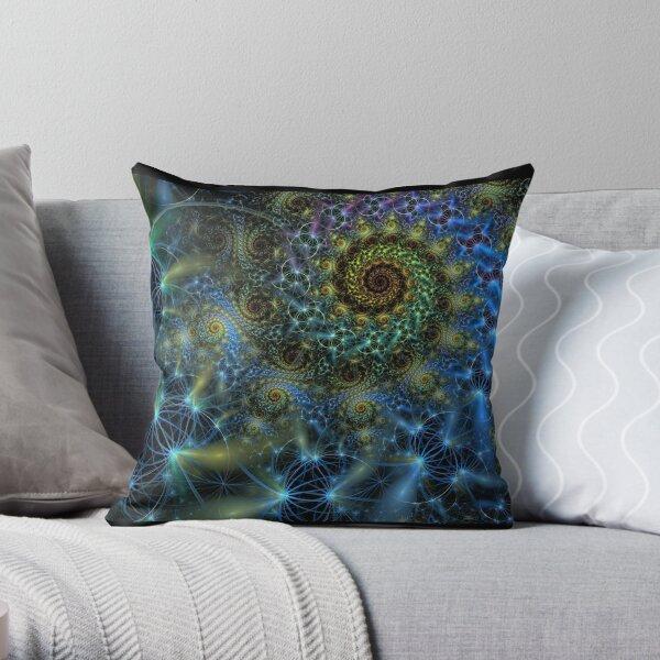 firefly dance Throw Pillow