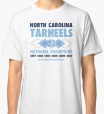 NCAA National Champions UNC White Classic T-Shirt