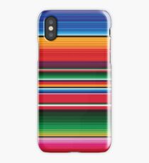 Serape print iPhone Case