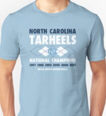 NCAA National Champions UNC Blue T-Shirt