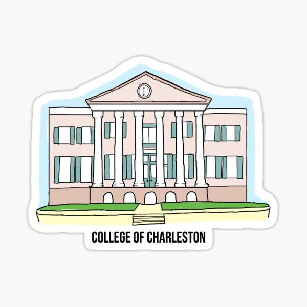 College of Charleston Cistern Sticker