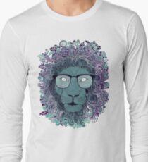 Geeky Lion Long Sleeve T-Shirt