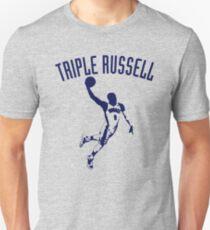 Camiseta unisex Triple Russell