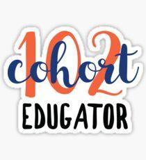 Cohort 102  Sticker