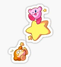 Hang in there! - Kirby Sticker