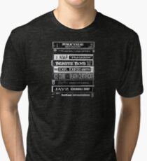 Hip-Hop 1990s Cassette Tapes Tri-blend T-Shirt