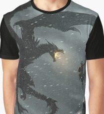 Skyrim - Dragonslayer Graphic T-Shirt