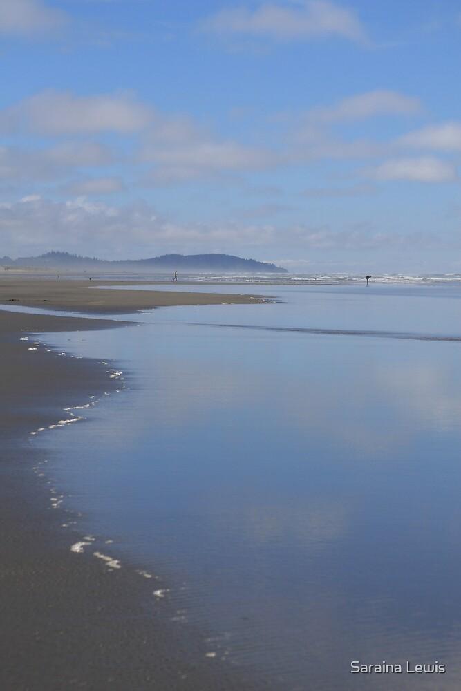 blue beach by Saraina Williams