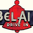 Route 66 Bel Air Sign V2 by rebeccaeilering
