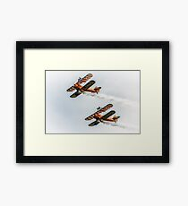 Breitling Wing Walker duo Framed Print