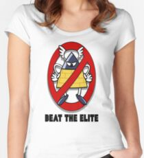 Beat the Elite Women's Fitted Scoop T-Shirt