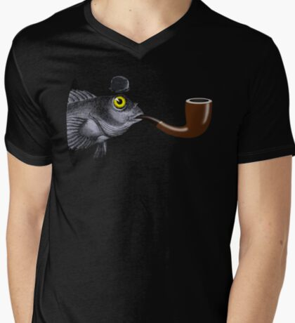 Magritte Fish T-Shirt