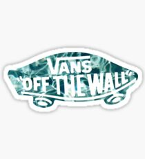 Vans Skateboard Water Sticker