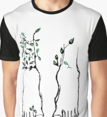 Bare Feet Become Trees When Still Graphic T-Shirt