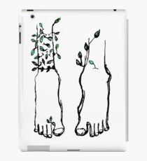 Bare Feet Become Trees When Still iPad Case/Skin