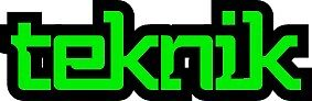 Black and Green Teknik Logo by Teknikio