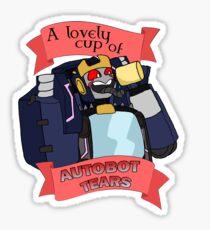 Autobot Tears - Helex Sticker