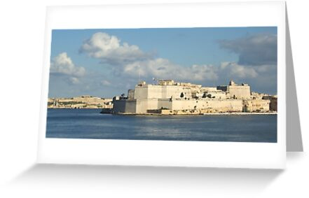Fort St Angelo (sold) by Christian  Zammit