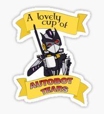 Autobot Tears - Vos Sticker
