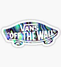 Vans Skateboard Swirls Sticker