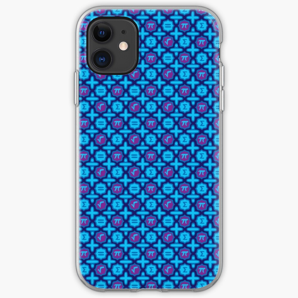 Totally Math in Blue iPhone Case & Cover