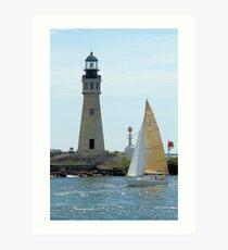 Buffalo Lighthouse Art Print