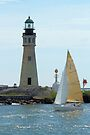 Buffalo Lighthouse by Bob Hardy