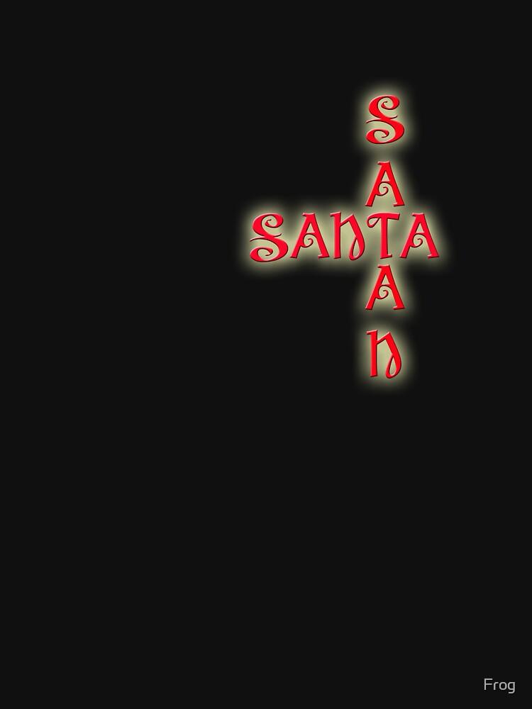 Satan Santa by Frog