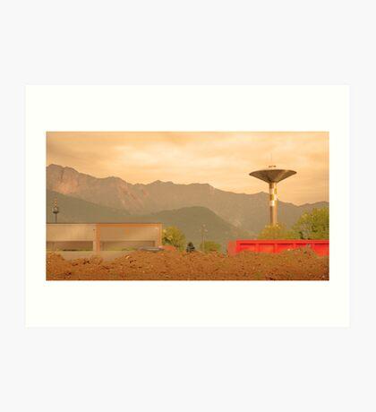 Paesaggio Industriale Art Print