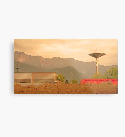 Paesaggio Industriale Metal Print