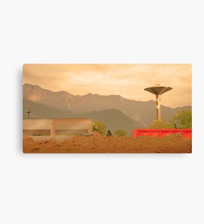 Paesaggio Industriale Canvas Print