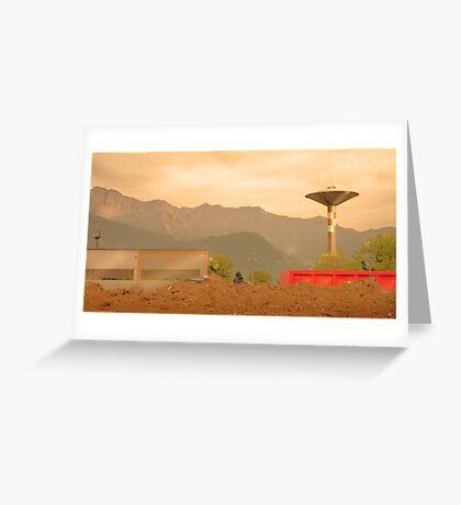 Paesaggio Industriale Greeting Card
