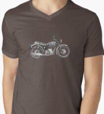 1952 Velocette Venom Motorcycle Men's V-Neck T-Shirt