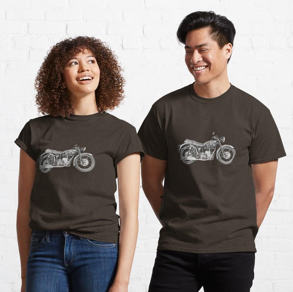 1952 Velocette Venom Motorrad Classic T-Shirt