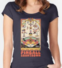 Pinball Countdown Women's Fitted Scoop T-Shirt