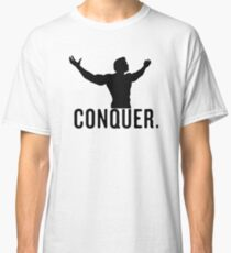conquer arnie vector design Classic T-Shirt