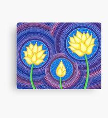 Dreamy Lotus Family Canvas Print