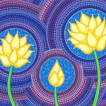 Dreamy Lotus Family by ElspethMcLean