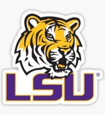 LSU  Sticker