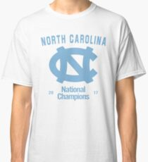 North Carolina 2017 National Champions Classic T-Shirt
