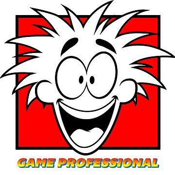 Game Professional (Full Text + Border) by BlazeHedgehog