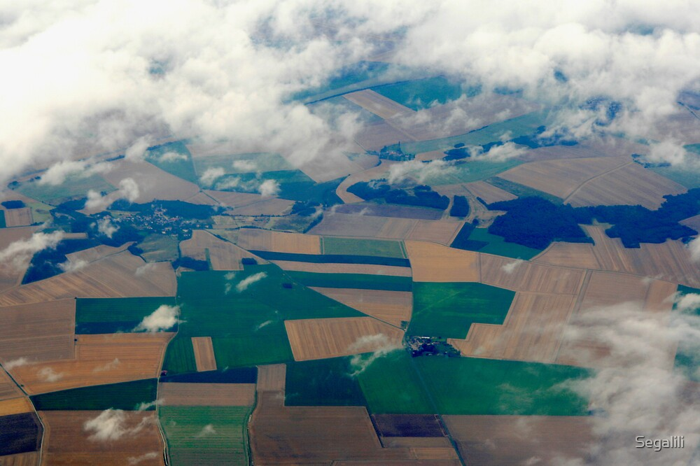 Somewhere over Europe by Segalili