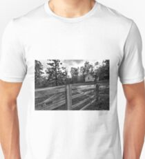 Up on the hill. Unisex T-Shirt