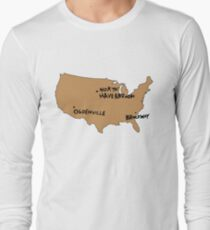 Ogdenville, North Haverbrook and Brockway Long Sleeve T-Shirt